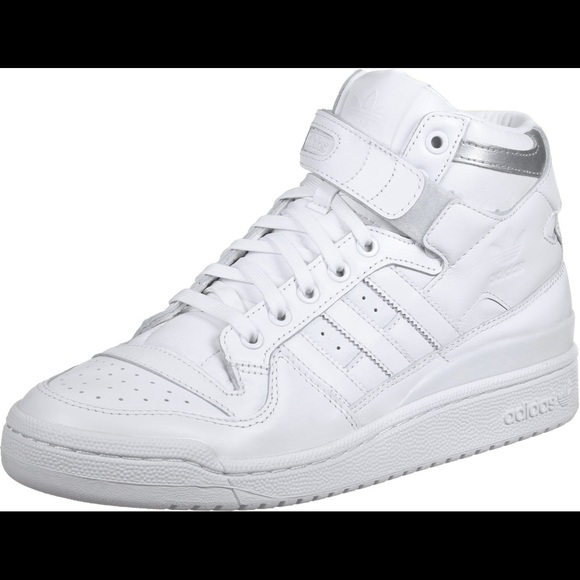 pretty nice e7386 c745b Adidas Forum Mid Refined sz 9.5-White-new(F37831)